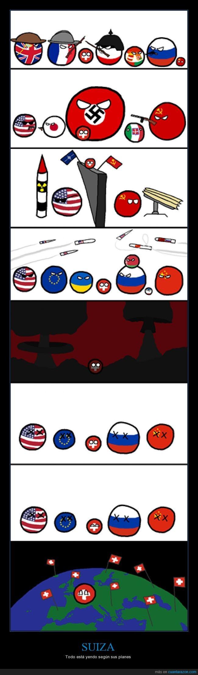 Alemania Nazi,Bielorrusia,China,Crimea,Dominio del mundo,Francia,Imperio Aleman,Imperio AustroHungaro,Japon,Polandball,Reino de Italia,Reino Unido,Rusia,Suiza,Ucrania,Union Europea,URSS,¡Arrodillense todos ante Suiza!