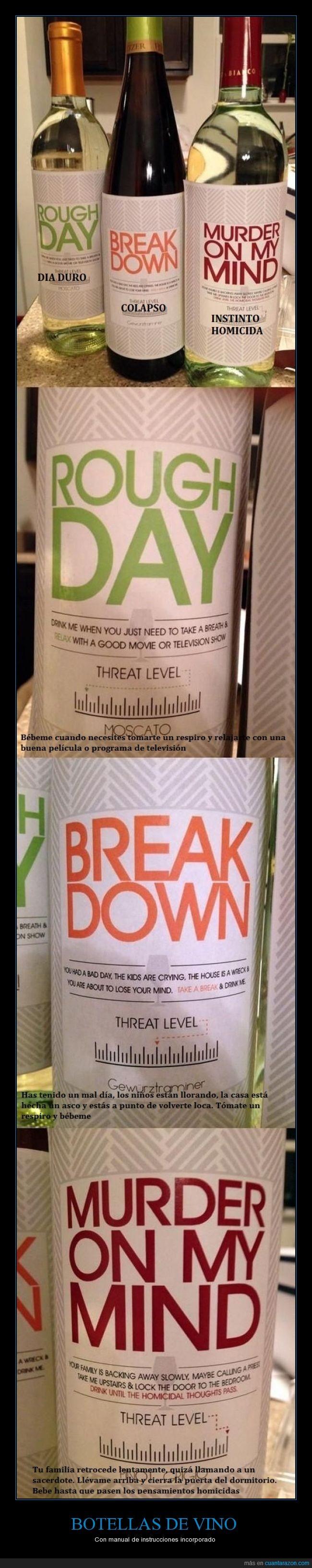 botella,etiqueta,instrucciones,vino