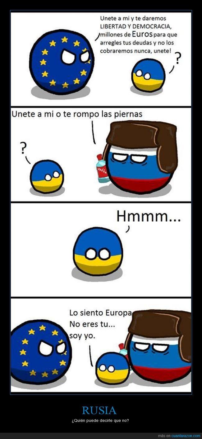 anexionar,miedo,partir,pegar,piernas,Rusia,Ucrania,Unión Europea,vodka