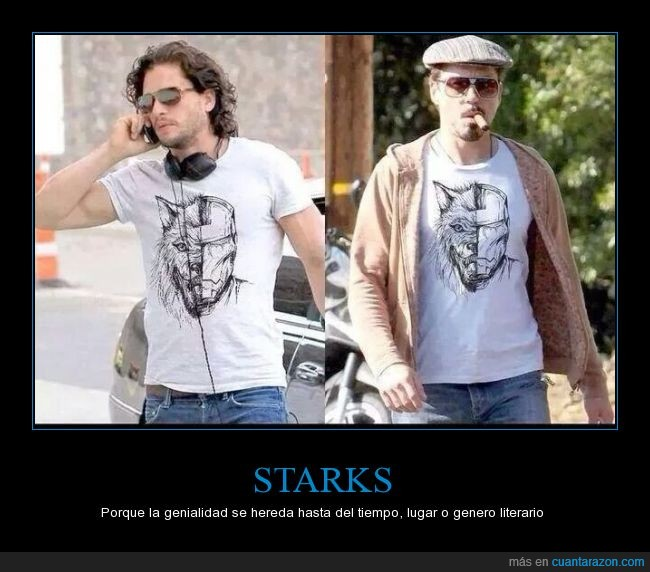 camiseta,iron man,jon nieve,jon snow,kit harington,leon,robert downey jr,stark,tony stark
