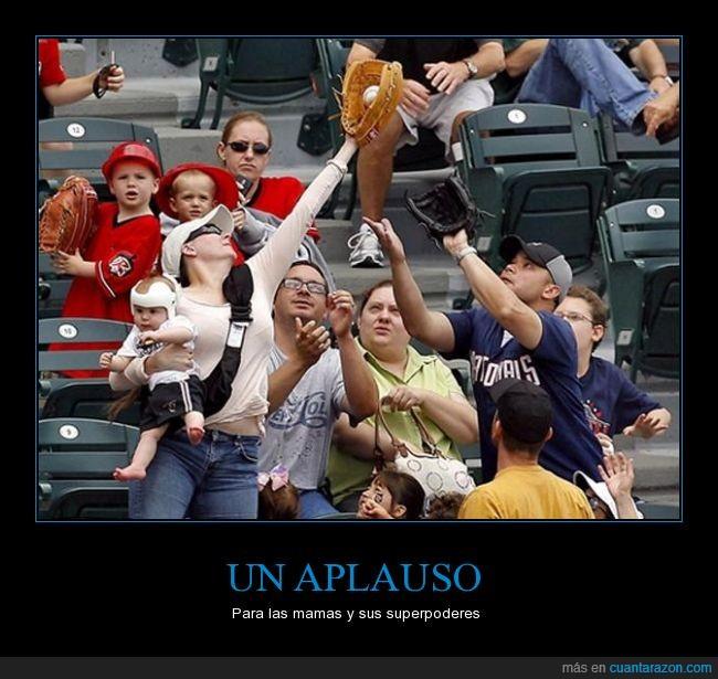 baseball,bebe,conseguir,deportes,hijo,humor,mamas,pelota