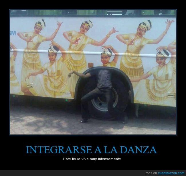 autobús,baile,camión,dibujo,hindú,india,indio,llanta,movimiento,pintura,posicion,rueda