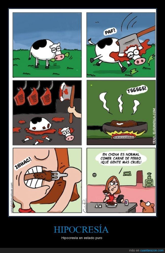 carne,chinos,cocinar,comer,cortar,hierba,orientales,perros,vaca