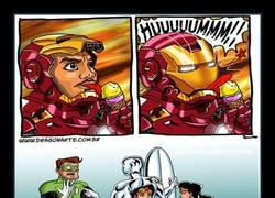 Enlace a Los superhéroes en sus ratos libres