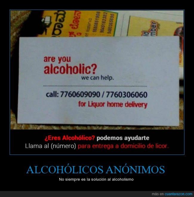 alcoholismo,licor,problemas de alcohol,publicidad ingeniosa,servicio a domicilio