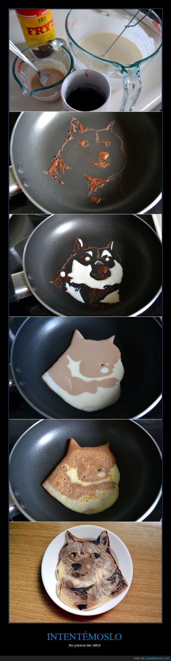 desayuno,doge,pancake,perrito,tostada,wafle