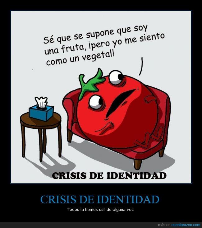 crisis de identidad,es fruta,no es vegetal,tomate fruta rara