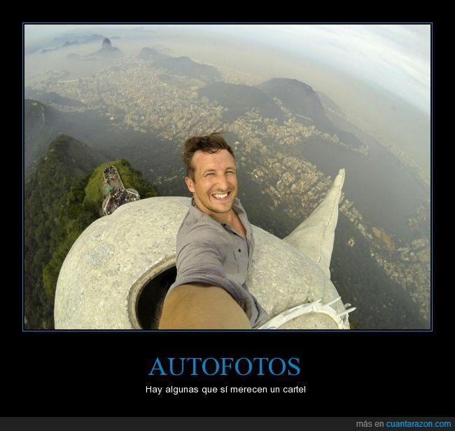Autofoto,brasil,corcovado,Cristo Redentor,no pongo selfie porque odian esa palabra,rio de janeiro