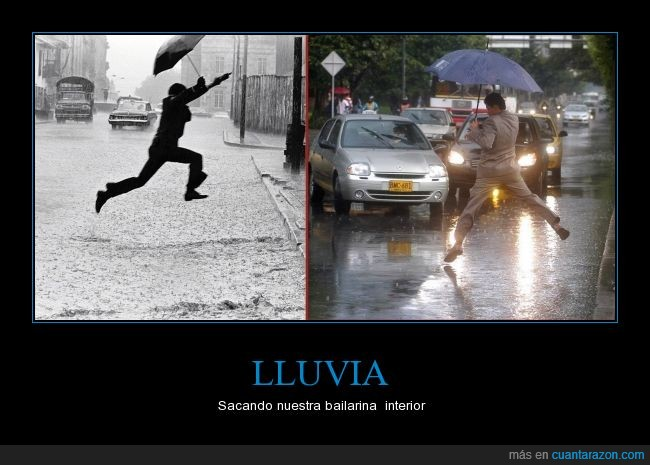 aigua,baile,ballet,charco,lluvia,saltar,singing in the rain