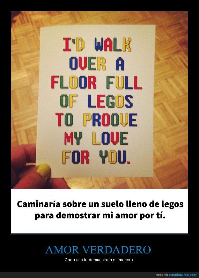 amor,amor verdadero,dolor,legos,pies
