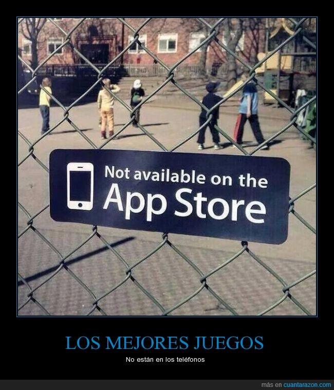 aplicaciones,appstore,disfrutar,juegos,niño,parque,telefonos,vida