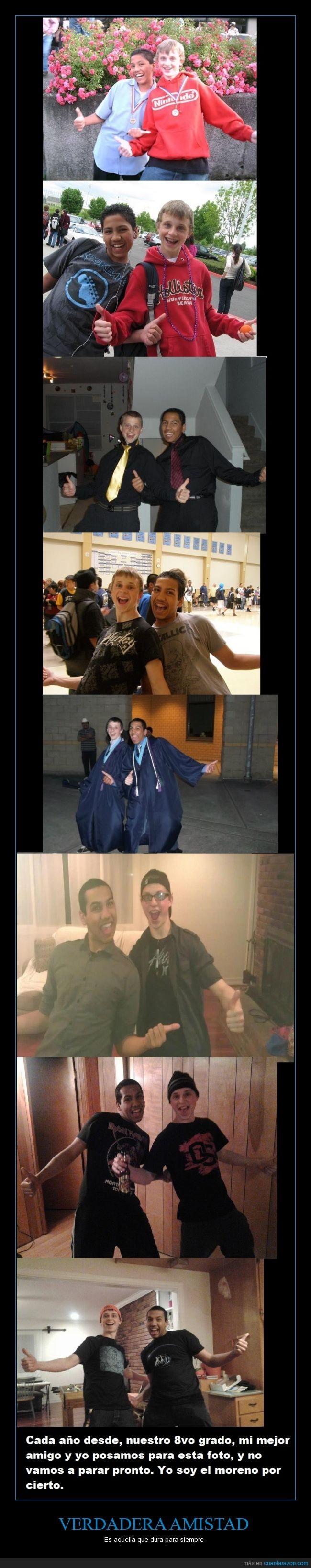 amigos,amistad,años,desinteresado,foto,igual,misma,pose