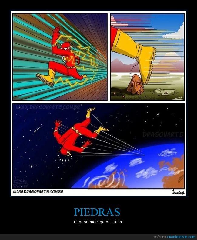 enemigo,flash,historietas,piedras,rapido,saltar,superheroes,volar