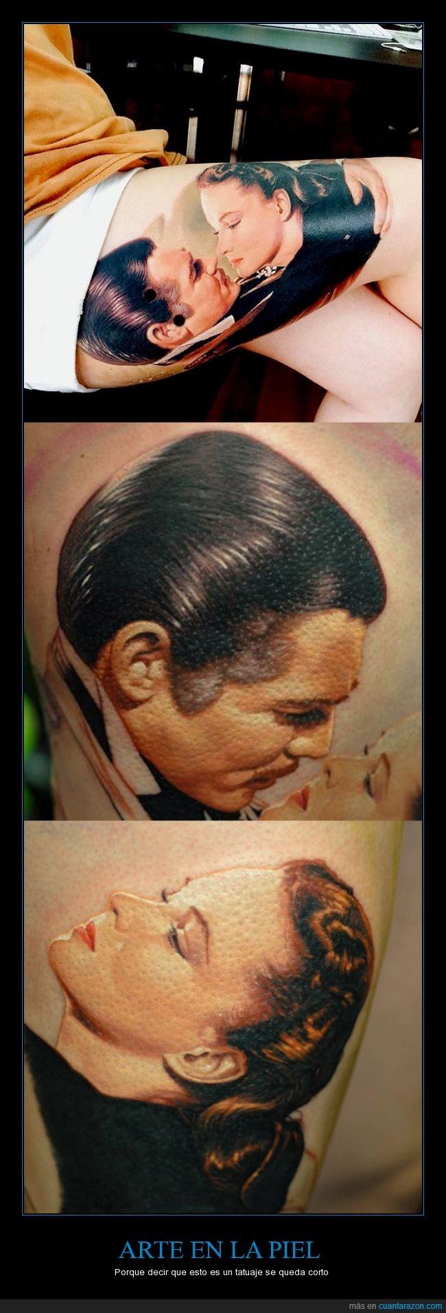 clark gable,lo que el viento se llevo,scarlatta,tatuaje,vivien leigh