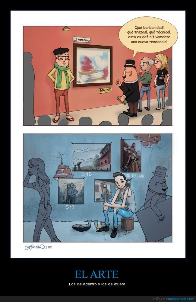 arte,hipsters que se creen artistas,sobrevalorado,subestimado,trazo