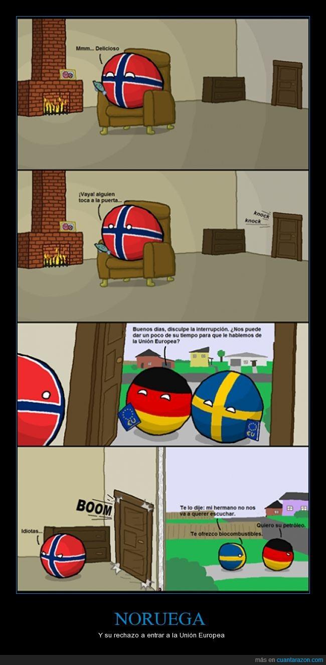 alemania,crisis,españa,Estados unidos,humor,noruega,países,perro,petroleo,suecia,Unión Europea