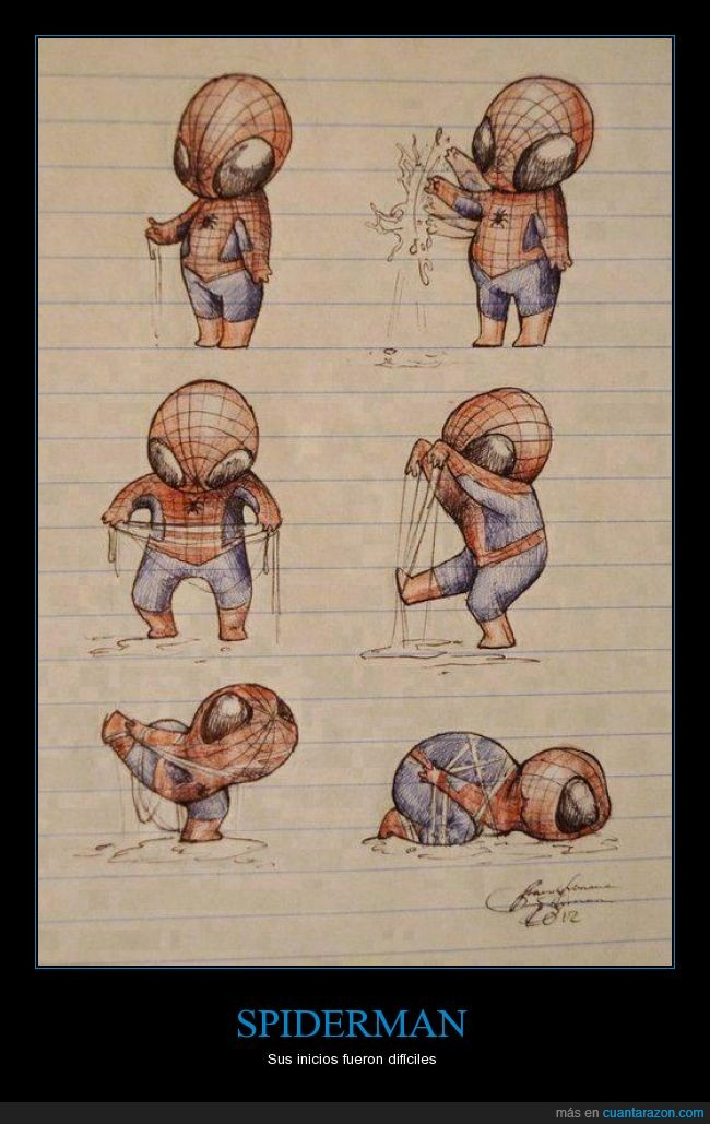 liar,lio,pegar,problema,spiderman,telaraña