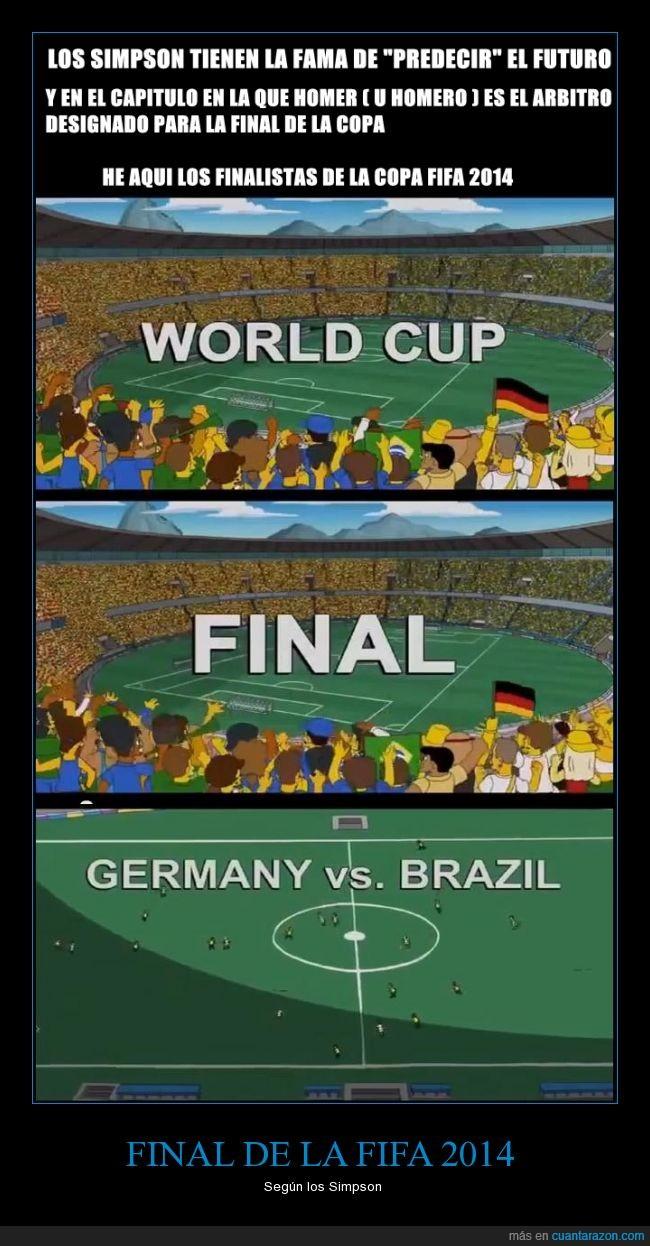 2014,alemania,aviso de spolier,brasil,brazil,FIFA,Football,futbol,germany,homer,simpson