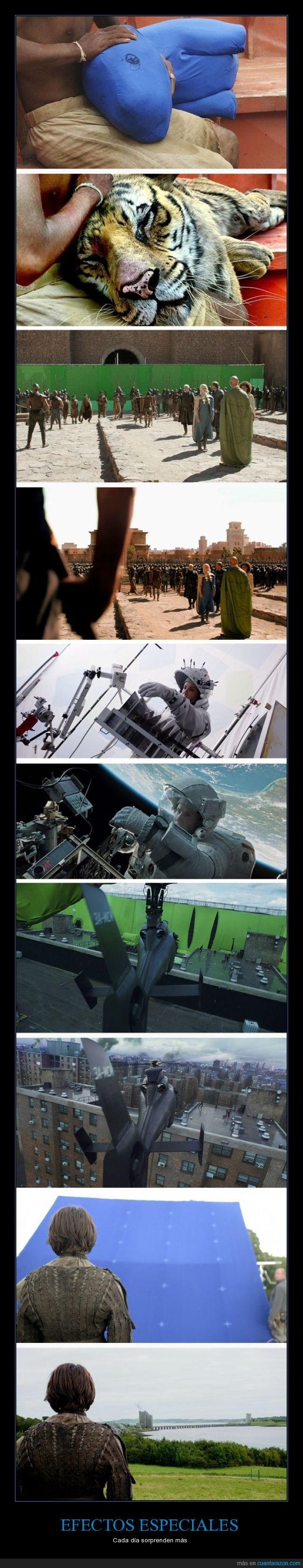 cine,efectos cinematográficos,efectos especiales,juego de tronos,la vida de pi,películas,visual