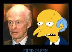 Enlace a ¿En quién se inspiraron para crear al Sr. Burns?