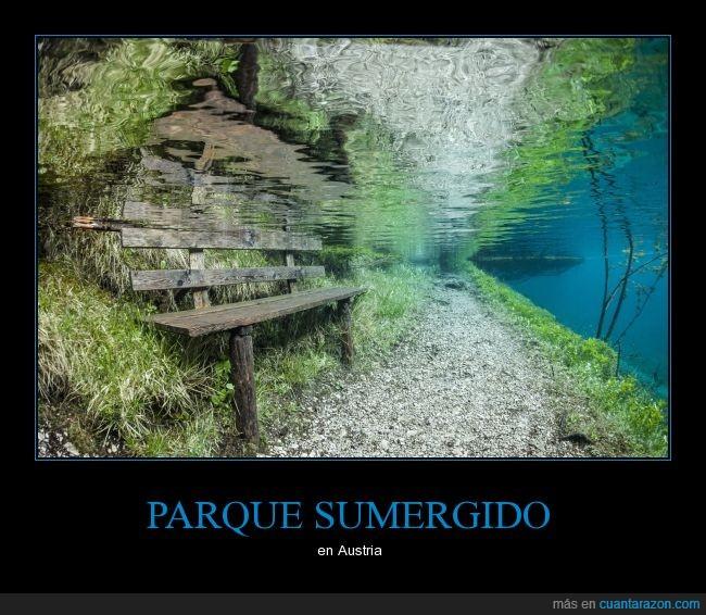 agua,austria,belleza,debajo,parque,silla
