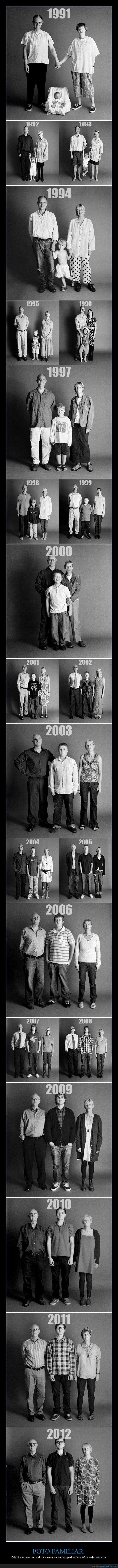 año,blanco y negro,cada,crecer,crecimento,evolucion,familia,foto,hijo,madre,padre