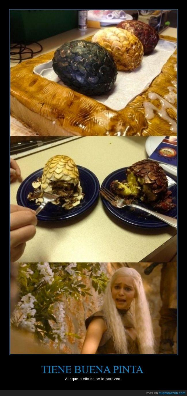 cake,dragones,dulce,huevos,juego de tronos,khaleesi,madre,pastel,tarta