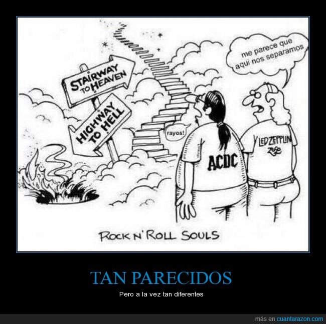 acdc,camino,highway to hell,led zeppelin,rock,separar,stairway to heaven