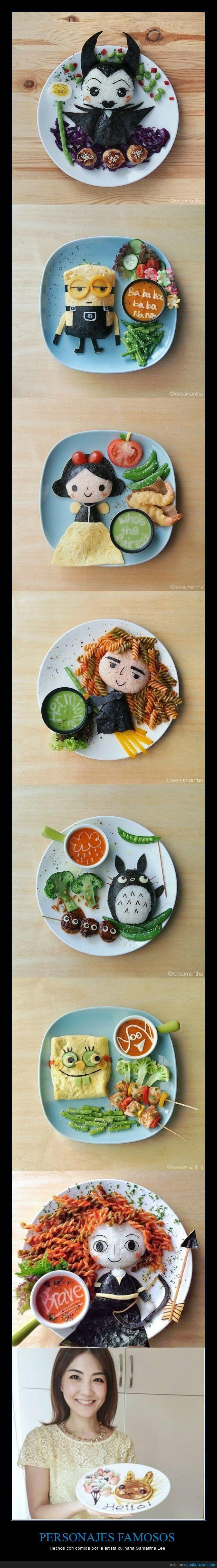bob esponja,Brave,comida,malefica,mi villano favorito,Samantha Lee,verduras