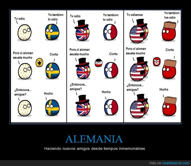 Alemania,amigos,aterrador,ayudar,contra,enemigos,miedo,unir