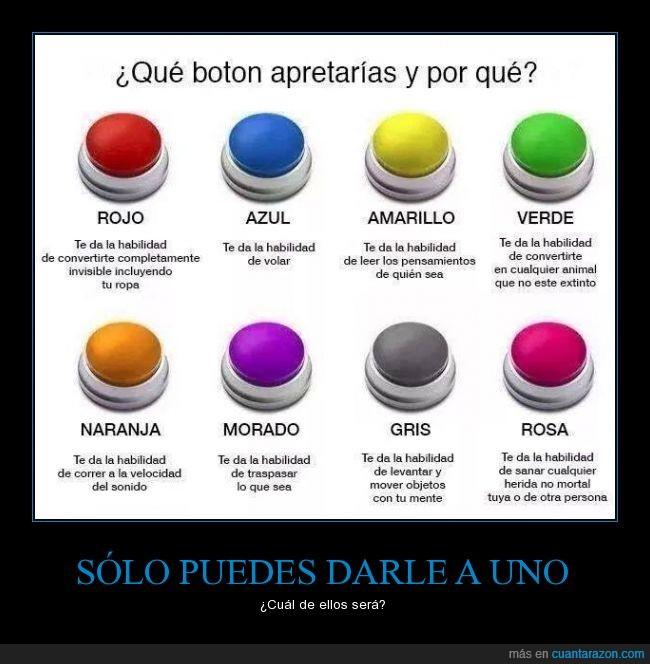 botones,colores,eleccion,elegir,imaginación,poderes,positivo