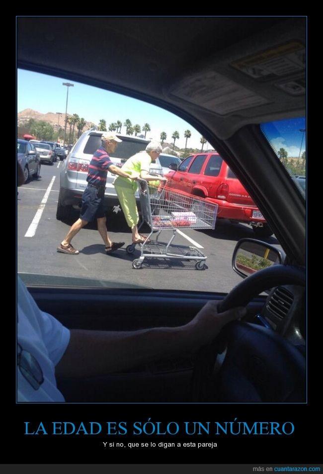 abuela,abuelo,anciana,anciano,carrito,compra,pareja,relationship goals,señor,señora,supermercado,wiiiiiii