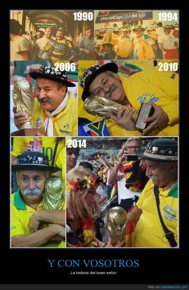 años,brasil,crecer,evolucion,mundial,señor,triste,viejecito