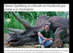Enlace a Spielberg, asesino de dinosaurios