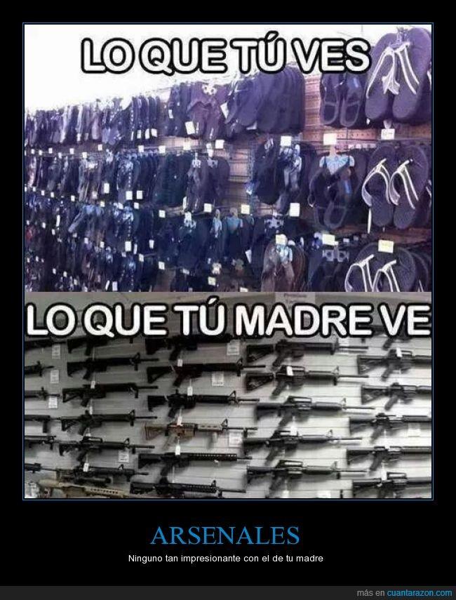 arma,chanclas,flipflops,madre,pistola,tirar,zapatillas
