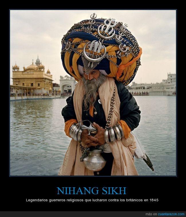 guerreros,historia,honor,lealtad,Nihang Sikh,religiosos