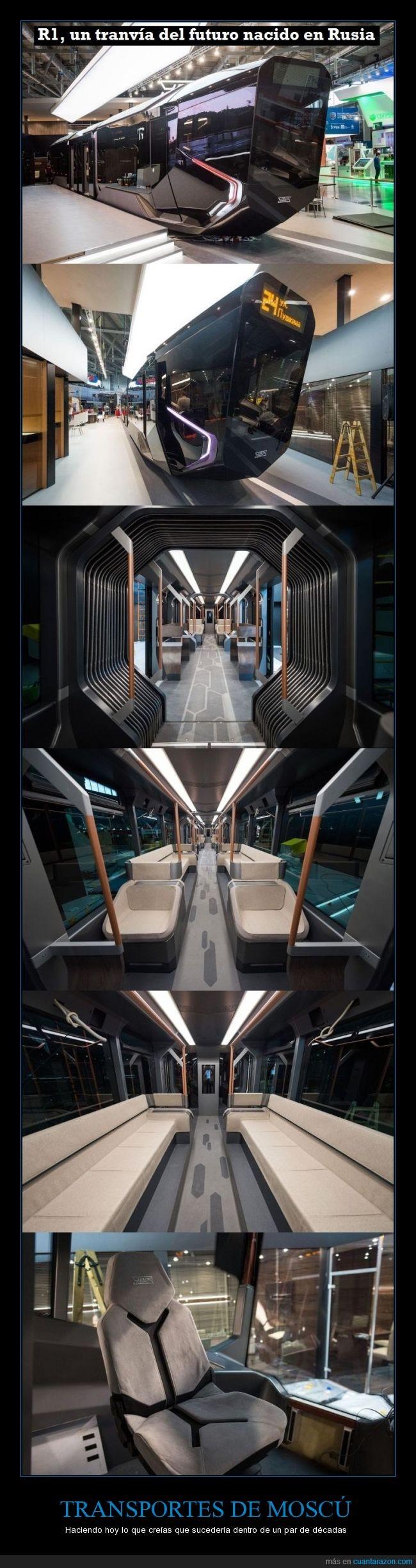 diferente,diseño,etro,futuro,moscu,tranvia,tren,vagon