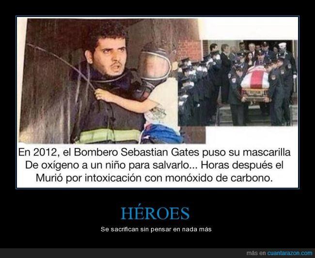 2012,bombero,hora,mascarilla,monoxido,niña,respirar,salvar,sebastian gates