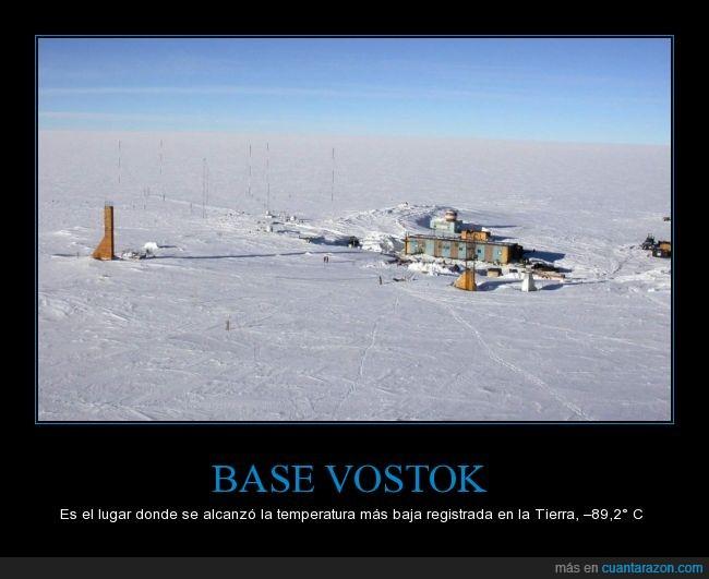 Base,Frio,Lugar,Mas,Tierra,Vostok