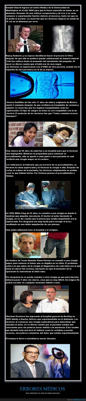 cortar,dentro,errores,mal,medicina,medicos,muy mal,negligencia,otra,pierna,pieza,riñon,tragedia