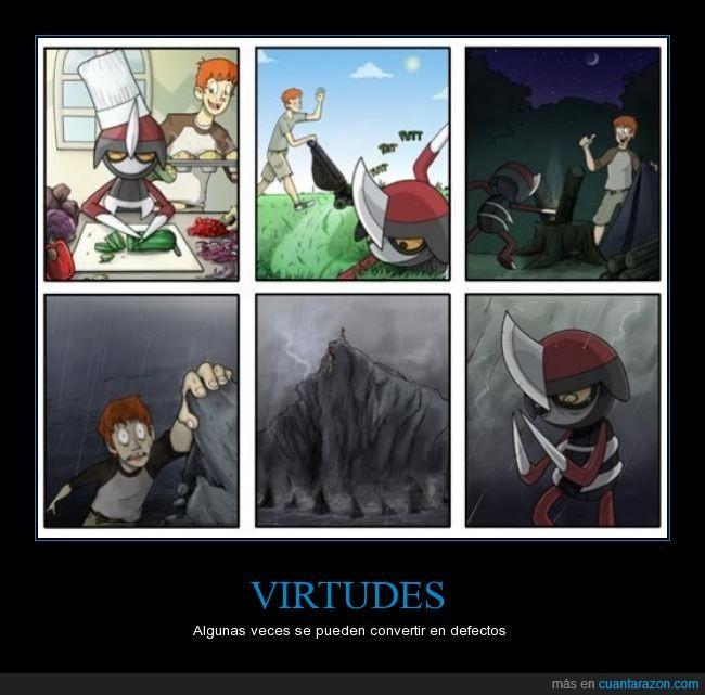 ayudar,chico,cortar,cuchillo,defecto,filo,manos,montaña,pico,pincho,pokemon,virtud