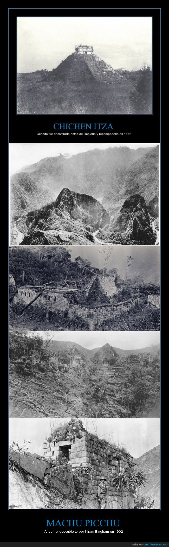 Hiram Bingham,Machu Picchu,Maravilla del Mundo,Patrimonio de la Humanidad,Peru