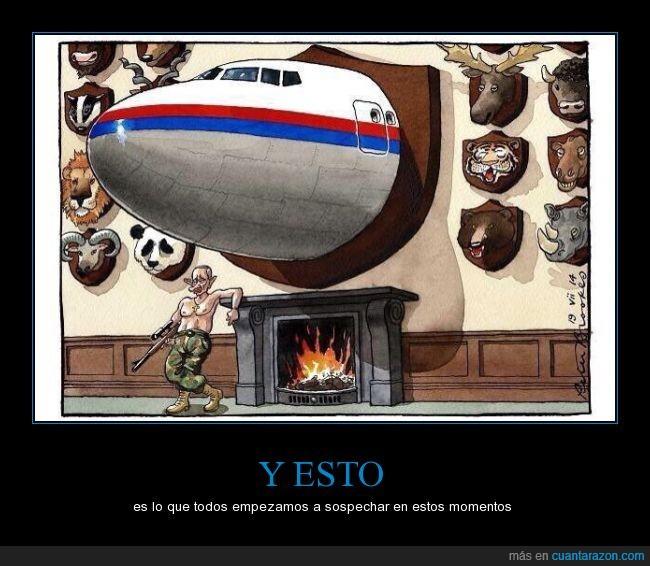 animal,avion,caza,premio,putin,rusia,ucrania