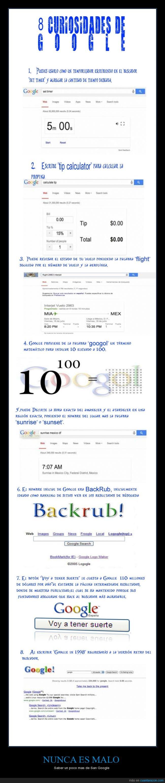 1998,back rub,curiosidades,datos,google,googol,san google,top 10,voy a tener suerte