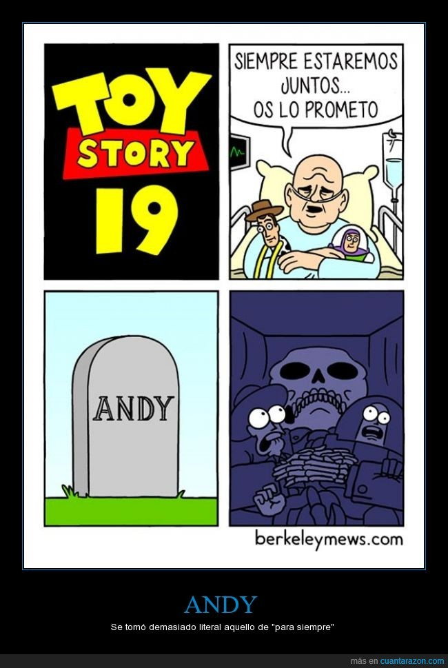 19,andy,futuro,juguete,morir,muerte,murio,toy story,tumba