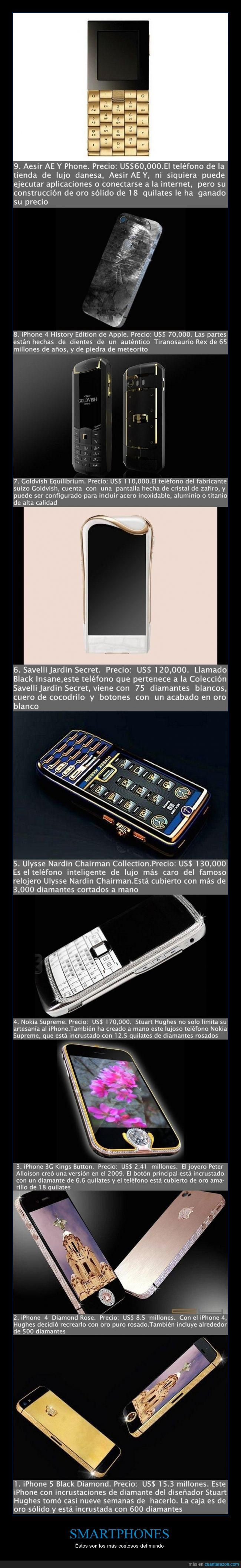 diamantes,iPhone,iPhone 4 Diamond Rose,iPhone 5 Black Diamond,Nokia Supreme,Peter Alloison,Savelli Jardin Secret,smartphone,Stuart Hughes,tecnología,Ulysse Nardin Chairman