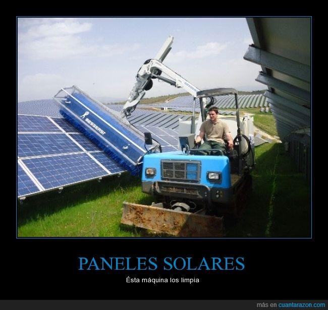 cartel pequeño XD,maquina,Paneles,raro,solares