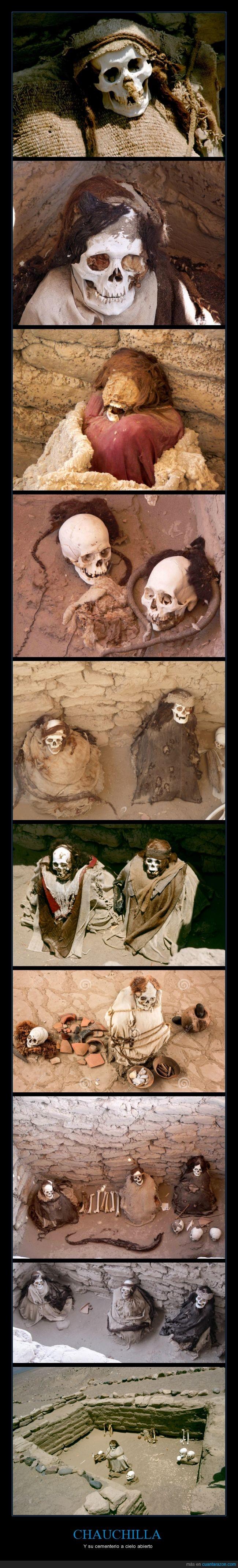 Al aire libre,Cementerio,Chauchilla,Esqueletos,Huesos,Momia,Momias,Muertos,Nazca,Perú,Tumbas