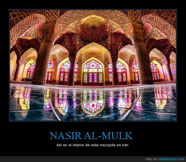 alcázar,Irán,lujo,mansión,Mezquita,nasir al mulk,nasir al-mulk,palacio,shiraz