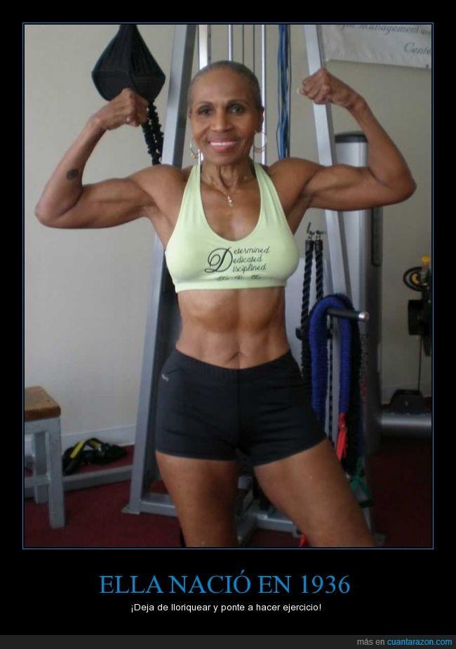 78 años,anciana,chica,deporte,edad,ejercicio,fit,fuerte,gimnasio,mayor,señora
